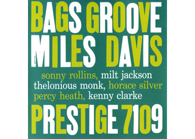 "RPM - THELONIOUS MONK in ""Bags Groove"" di MILES DAVIS"