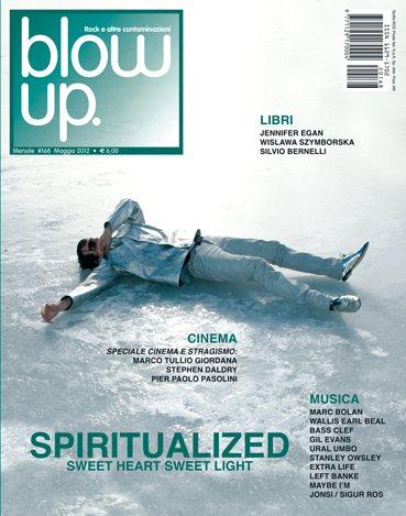 Blow up #168 (maggio 2012)